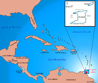 where is and tobago located on the world map 28 images welcome