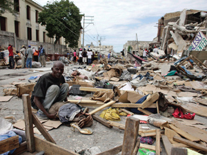 U.S. help for Haiti is a fraud and a shame