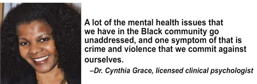 Image result for Mental health in the black community