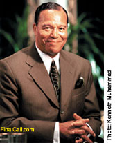 The Honorable Minister Louis Farrakhan
