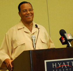 Farrakhan opens visit to Caribbean in Trinidad
