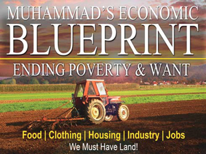 Economic blueprint offers black america the way to progress muhammads economic blueprint malvernweather Images