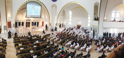 farrakhan delivers divine guidance for a troubled world
