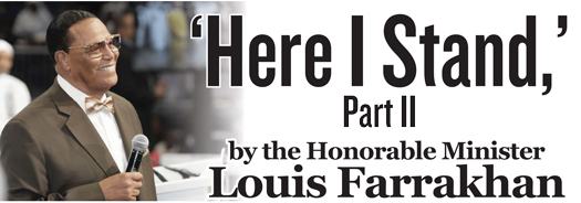 Minister louis farrakhan on homosexuality and christianity