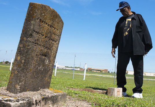 A battle for a burial ground and dignity